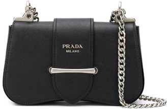 Prada Sidonie logo shoulder bag