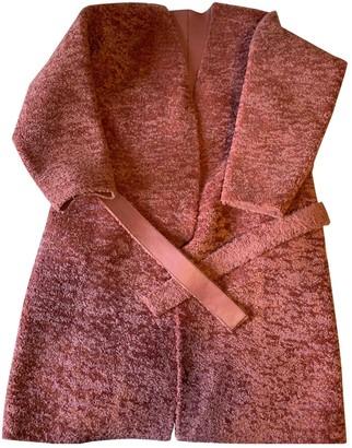 Aeryne Pink Faux fur Jacket for Women