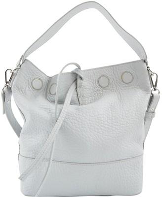 Iris & Ink Grey Leather Handbags