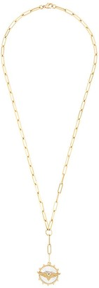 Foundrae 18kt yellow gold 20 inch Passion Classic FOB Clip with 1.25 inch Classic FOB Clip Extension
