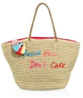 Rebecca Minkoff Beach Hair Don't Care Straw Tote