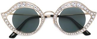 Gucci Studded Cat Eye Sunglasses