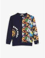 A Bathing Ape Baby Milo print cotton sweatshirt 4-8 years