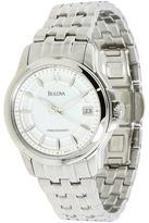 Bulova Ladies Precisionist - 96M121 (White) - Jewelry