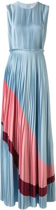 Roksanda Sleeveless Pleated Silk Gown