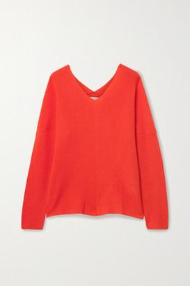 Maje Cashmere Sweater - Bright orange