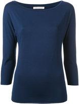Stefano Mortari plain sweatshirt - women - Spandex/Elastane/Viscose - 42