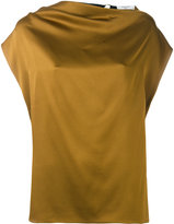 Lanvin strap back blouse - women - Acetate/Viscose/Brass/zamac - 38