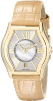 Escada Women's IWW-E3730042 Grace Analog Display Swiss Quartz Beige Watch