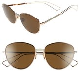 Christian Dior 'Ultradior' 56mm Aviator Sunglasses