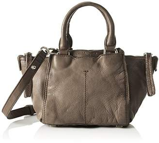Liebeskind Berlin Women's Minya Toredo Top Handle Handbag, Elephant Grey, fits All