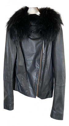 Hotel Particulier Black Leather Jackets