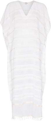 Lemlem Kelali stripe-pattern kaftan dress