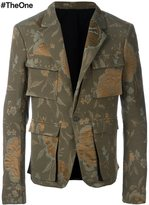 Haider Ackermann 'Raquel' military jacket - men - Silk/Cotton/Acetate/Wool - 48