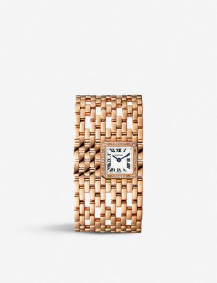 Cartier WJPN0022 Panthere de 18ct rose-gold and diamond watch