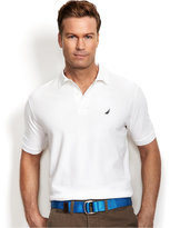 Nautica Big and Tall Men's Shirt, Solid Deck Performance Polo