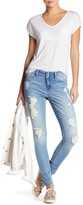 Seven7 Destructed Ankle Skinny Jean