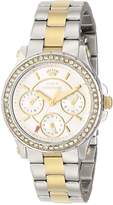 Juicy Couture Women's 1901107 Pedigree Multi-Eye Crystal Bezel Watch