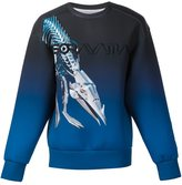 Juun.J x Hajime Sorayama sweatshirt - men - Acetate - 44