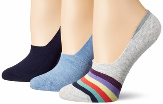 Keds Women's 3 Pack Liner Socks with Arch Support