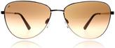 Serengeti Gloria Sunglasses Shiny Rose Gold 8414 60mm