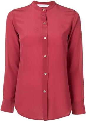 Societe Anonyme Mandarin Collar Shirt