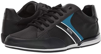 HUGO BOSS Saturn Low Profile Sneakers (Black) Men's Shoes