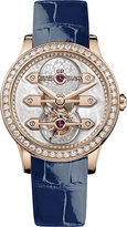 Girard Perregaux Girard-Perregaux 99240D52A701-CK7A Bridges Tourbillon 18ct pink gold and alligator leather watch