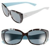 Christian Dior 'Lady' 55mm Retro Sunglasses