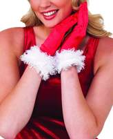 Rubie's Costume Co Rubie's Costume Women's Clausplay Santa Fashion Gloves, Red/White