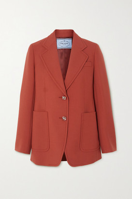 Prada Wool Blazer - Red