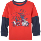 Andy & Evan Moto Cowboy Graphic T-Shirt, Size 2-7