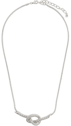 Nina Ricci Pre-Owned Knot Necklace