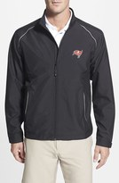 Cutter & Buck Men's Big & Tall 'Tampa Bay Buccaneers - Beacon' Weathertec Wind & Water Resistant Jacket