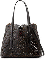 Alaia Very Classic Laser Cut Mini Tote Bag