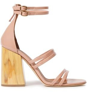 Malone Souliers Elyse Patent-leather Sandals