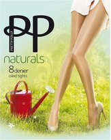 Pretty Polly Oiled Naturals Sheen Pantyhose