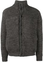 Roberto Collina cable knit bomber jacket
