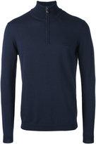 HUGO BOSS zip up sweater - men - Cotton/Virgin Wool - XXL