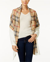 Charter Club Mixed Media Knit Blanket Scarf, Only at Macy's