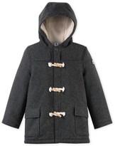 Petit Bateau Boys duffel coat in wool broadcloth