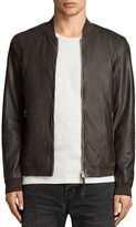 AllSaints Boxley Leather Bomber Jacket