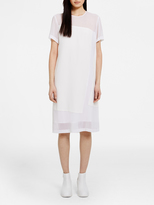 DKNY Dress With Georgette Inserts