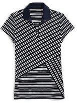 Tommy Hilfiger Women's Criss Cross Pieced Polo