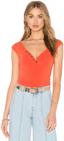 Free People Peaches Henley Tee