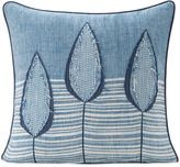 Bed Bath & Beyond SPUNTM by Welspun LotusHandcrafted Throw Pillow in Sky Blue
