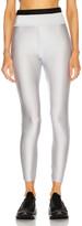 Moncler Pantalone Legging in Silver Metallic | FWRD