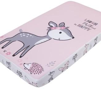NoJo Little Love by Sweet Deer Laugh Play Be Happy Photo Op Crib Sheet