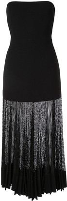 Dion Lee Net pleated dress