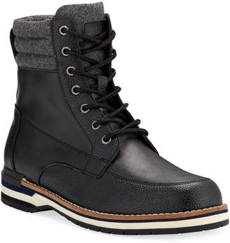 DKNY Men's Winston Leather & Wool Lace-Up Boots
